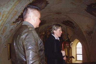 Kirchenbesichtigung in Straden