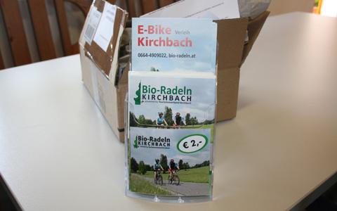 Radkarte Bio-Radeln Kirchbach