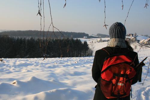 Winterwandern auf den Spuren der Vulkane