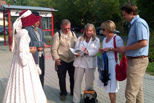 Empfang in Bad Gleichenberg