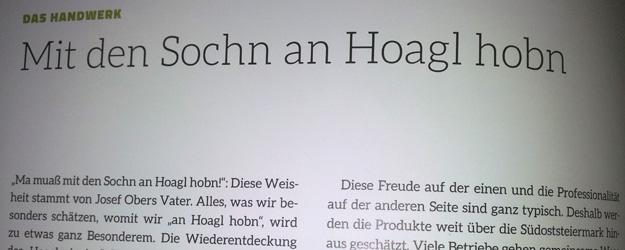 """""""An Hoagl hom"""""""