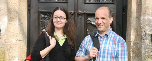 Barbara Friedinger und Werner Gross, zwei zertifizierte Pilgerbegleiter