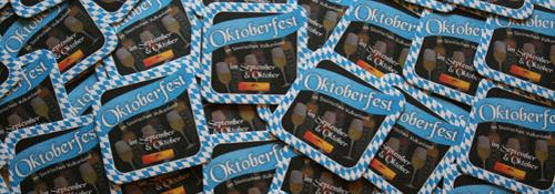 Bierdeckel Oktoberfest im Steirischen Vulkanland