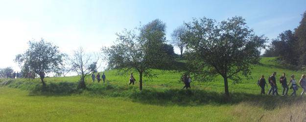 Wanderweg in Auersbach, am Himmel Erden Weg