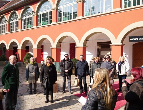 Slovenian castle cooperation visiting Styria